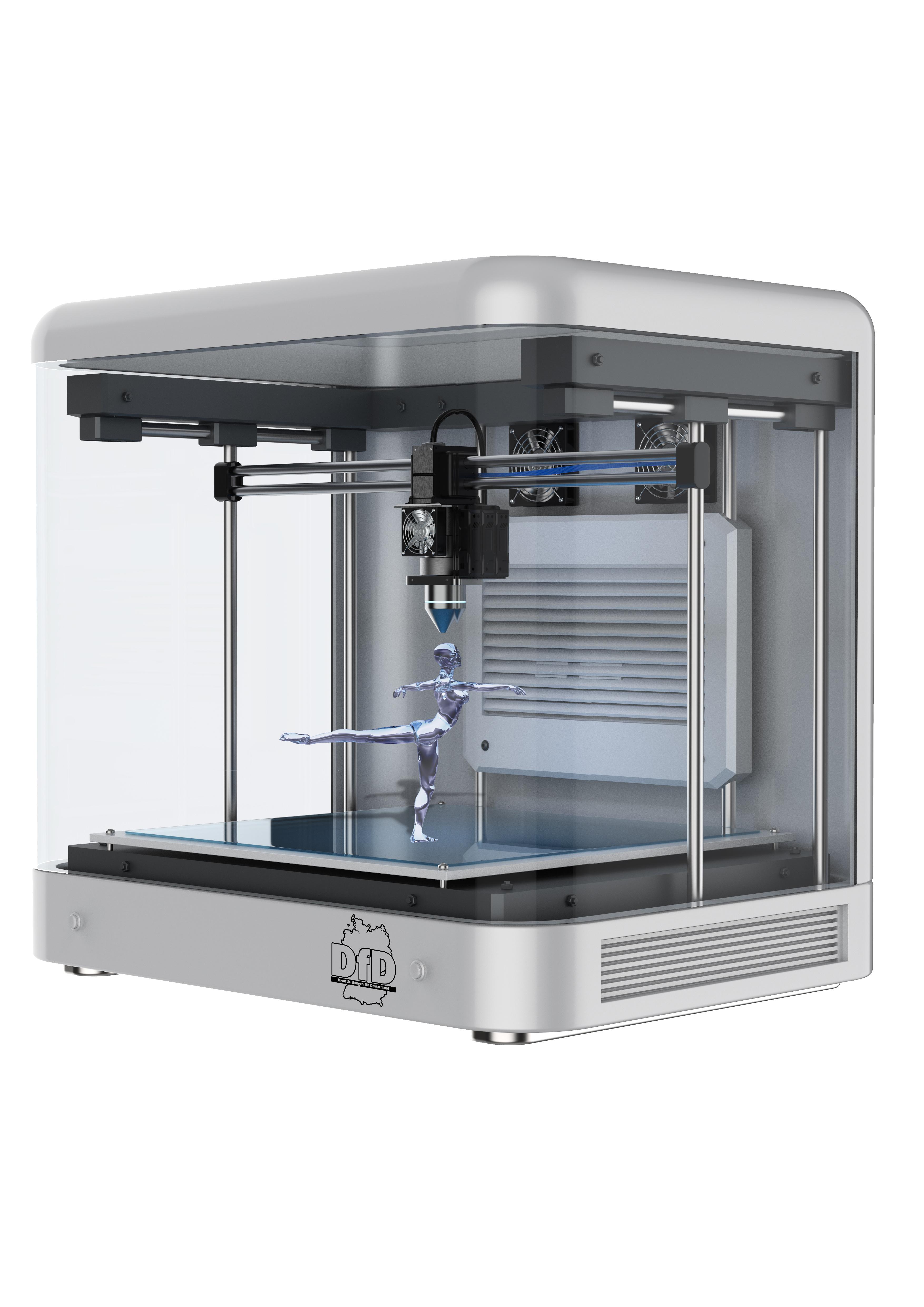 Bild des 3D-Eis-Druckers